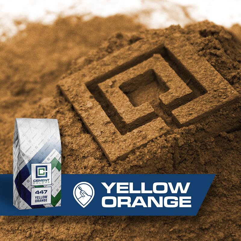 Yellow/Orange Raw Pigment