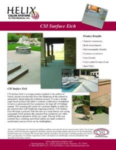 Chem Systems SurfaceEtch Flyer